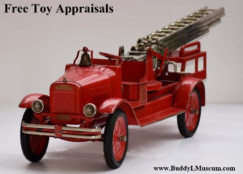 free antique toy appraisals buddy l museum rare buddy l aerial ladder fire truck sturditoy trucks for sale free buddy l trucks price guide ebay facebook buddy l coal truck sturdtioy ambulance facebook space toys vintage tin toy robots for sale buddy l space toy museum